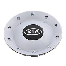 OEM NEW Wheel Hub Center Cap Chrome w/Black Kia Logo 02-03 Sedona 1K52Y-37190