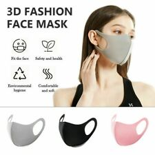 Washable Unisex Soft Face Mask Mouth Cover Masks Protective Reusable