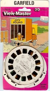 Vintage VIEW-MASTER 3-D SETS Garfield The Cat Bugs Bunny Road Runner Sesame St