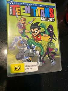 Teen Titans: Switched Region 4 Dvd Rare