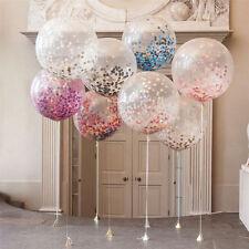"New 12"" 10PCS Mixed Colour Confetti Balloons Hen Party Birthday Wedding Decor"