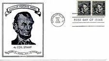 US FDC #1303 Lincoln Pair, Cascade (3188)