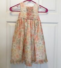 Marmellata Floral Flower Spring Dress Size 2T