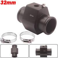 """32mm 1.26"""" Water Temperature Temp Sensor Gauge Joint Pipe Radiator Hose Adapter"""
