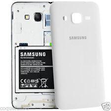 Coque Arriere / Cache Batterie Samsung Galaxy Core Prime ( G 360 ) Blanc
