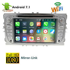 HD Quad Core Android 7.1 2 Din Car Auto DVD Player GPS Navigation for Ford Focus