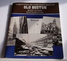 Thirty-two Picture Postcards Of Old Boston