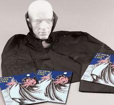 Garçons Filles Adulte Vampire Dracula Cape Noir cloke Halloween Costume Robe fantaisie