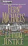 FERN MICHAELS... LETHAL JUSTICE...3 cd,s  Abridged audio book
