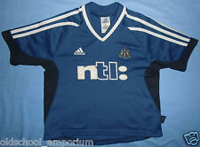 Newcastle United / 2001-2002 Away - ADIDAS - JUNIOR Shirt / Jersey. Size 128, 8?