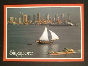 Postcard - singapore Scene - Lot 203