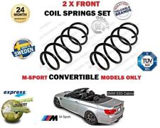 FO BMW 335i 325D 330D CONVERTIBLE E93 M SPORT 2007->NEW 2X FRONT COIL SPRING SET