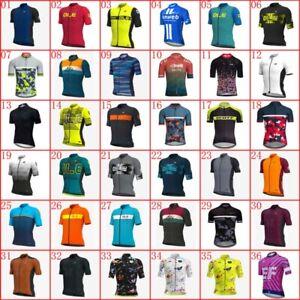 Summer Bike Uniform Cycling Jersey Mens Bicycle Tops Bike Wear New Racing Shirts