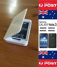 Samsung NOTE 3 N900 Retail White Charger Dock With New B800BC Battery no NFC