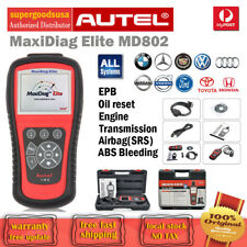 Autel MaxiDiag Elite MD802 All System+DS Model OBD2 Diagnostic Scanner Scan Tool