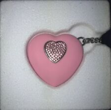Swarovski Crystal JEWELRY USB 4 GB Heart Pendant Light Rose
