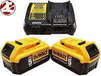 DeWALT DCB205 XR Lithium Ion 5.0Ah Batteries 12V 20V MAX Li-ion Charger DCB115