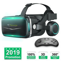 3D Virtual Reality Gaming Headset Movie VR Game Glasses for Android IOS iPhone