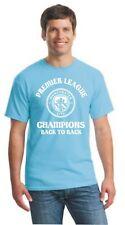MAN CITY FC Premier League CHAMPIONS - MANCHESTER CITY FC TSHIRT ALL SIZES