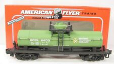 American Flyer 6-48403 S Scale British Columbia Tank Car NIB