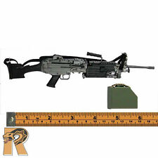 Lucas: SAW Gunner - M249 SAW Machine Gun w/ Ammo Box - 1/6 Scale Dragon Figures