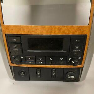 OEM 07-09 Chrysler Aspen Dodge Durango Heat A/C Temperature Control Unit w/Beze