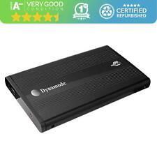 "Dynamode USB-HD2.5-BN | Hard Drive Enclosure - Black - 2.5"" - Grade A-"