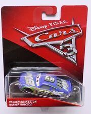 Disney Pixar Cars 3  PARKER BRAKESTON aka N2O COLA  Over 100 Cars Listed UK !!