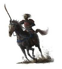 Samurai Naginata in Horse Kensei Undead Zenit Miniatures (5x 28mm Miniatures)