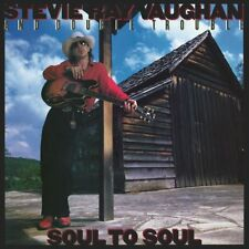 STEVIE RAY VAUGHAN AND DOUBLE TROUBLE SOUL TO SOUL LP VINYL 33RPM NEW