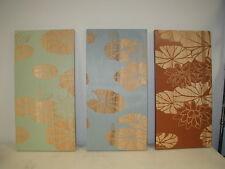 LA Style Carved Wood Panel S/3 (3 pcs) Item # 60461