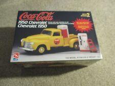 AMT Coca-Cola 1950 Chevrolet Pickup W/ Pop Machines & Cart 1:25 Kit 1997 Sealed