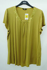 Marks and Spencer Cap Sleeve Hip Length No Pattern Women's Tops & Shirts