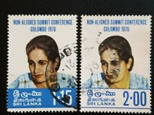 SRI LANKA ( CEYLON) 1976 MI.NR. 460-61