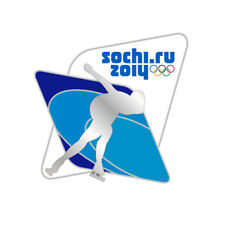 Sochi 2014 XXII Winter Olympic Games Pin Badge SPEED SKATING 2 Rio Pyeongchang