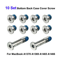 For MacBook Air A1370 A1369 A1465 A1466 Bottom Back Case Cover Screw 10 Pcs/set