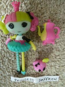 Mini Lalaloopsy Princess Saffron mini doll  !