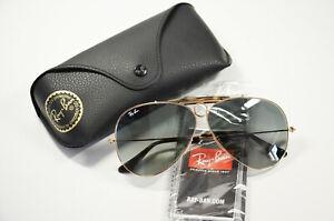 Original Unisex Ray Ban Shooter 3138 181 62 Brille Metall Sonnenbrille Neu