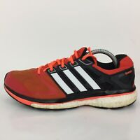 Adidas Boost Supernova Glide 6 Orange Textile Trainer M17426 Men UK 9 Eur 43