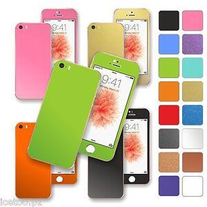 For iPhone SE Colorful MATT Matte Decal Wrap Sticker Skin