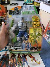 Savage Gray Hulk Action Figure Marvel Legends Hasbro 2007
