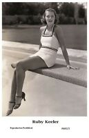 RUBY KEELER actress PIN UP PHOTO postcard A682/2 - Film Star 2000 Mint