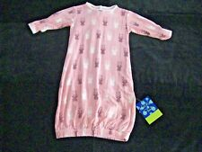 KicKee Pants Layette Gown Lotus Curly Heart Fern 3-6 Months NWT