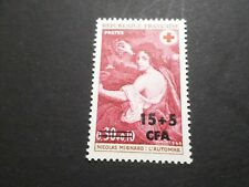 REUNION, 1968, timbre 382, CROIX ROUGE, neuf**, RED CROSS, VF MNH STAMP