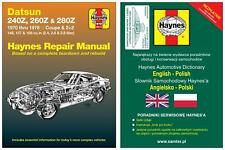 Datsun 240Z 260Z & 280Z (1970-1978) - instrukcja napraw Haynes