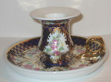 Handleuchter Nachtleuchter Kerzenhalter Kerzenleuchter, Porzellan im Antik Stil