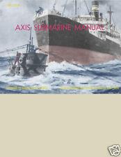 WWII U.S. NAVY Axis Submarine IDENTIFICATION BOOK