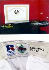 DANNY TARTABULL GAME USED BAT & ROAD PANTS STEINER COA