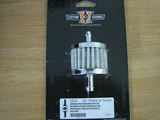 Chrome Dual Intake Breather filter ideal for Harley Davidson.....  CycleHaven