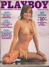 playboy no.3 1980 playboy's 1980 play boy 1980rare bo derek john derek uncle don